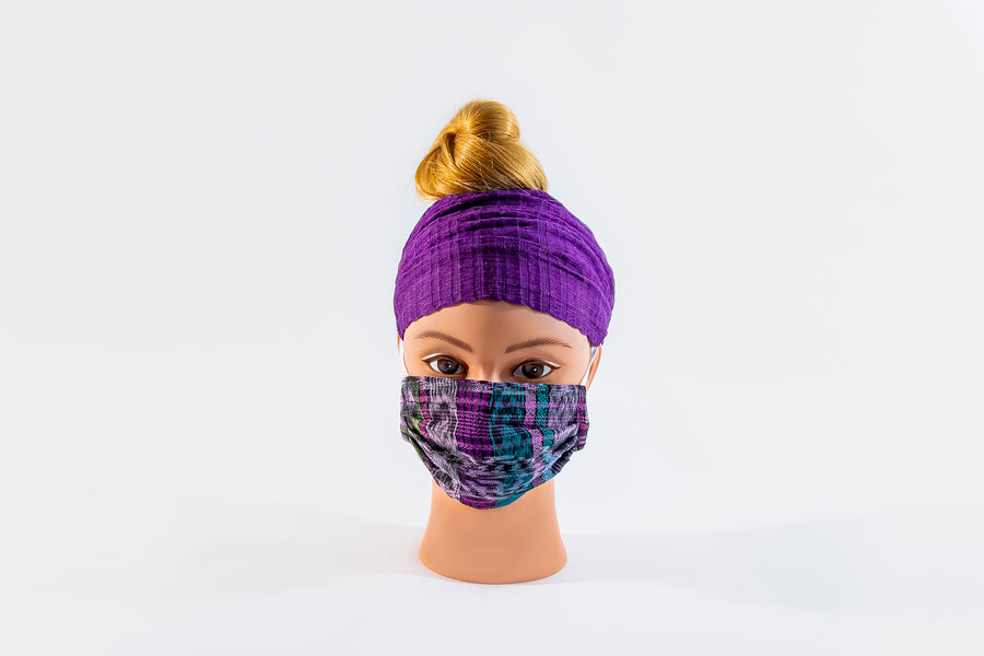 3 Ply Face Mask- Kente