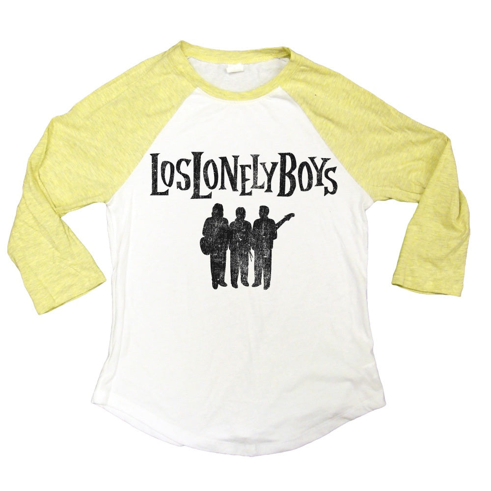 "Los Lonely Boys ""Logo Silhouette"" Women's Baseball Style T-Shirt"