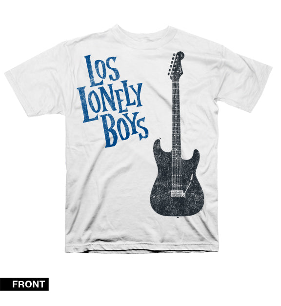 "Los Lonely Boys ""Guitar Crew"" T-Shirt in White"