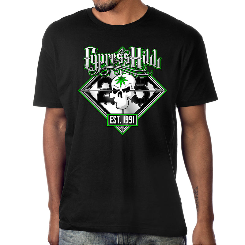 "Cypress Hill ""25th Anniversary Tour"" t-shirt"