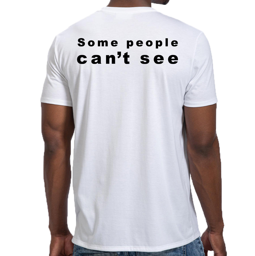 "Pure Virtue ""Eye Test"" T-Shirt In White"