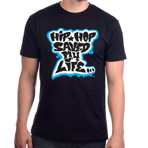 "Afrika Bambaataa ""Hip Hop Saved My Life"" Men's  T-shirt"