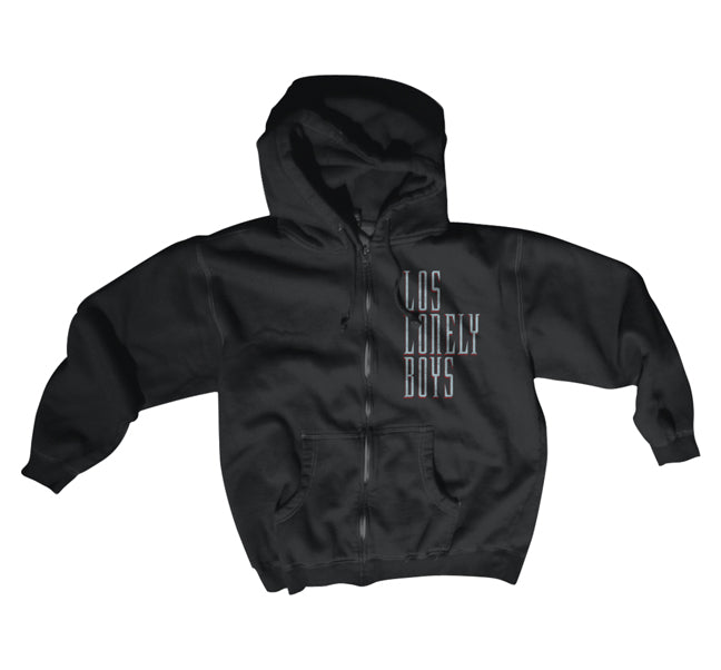 "Los Lonely Boys ""Affiction"" Men's Zip Hoodie"