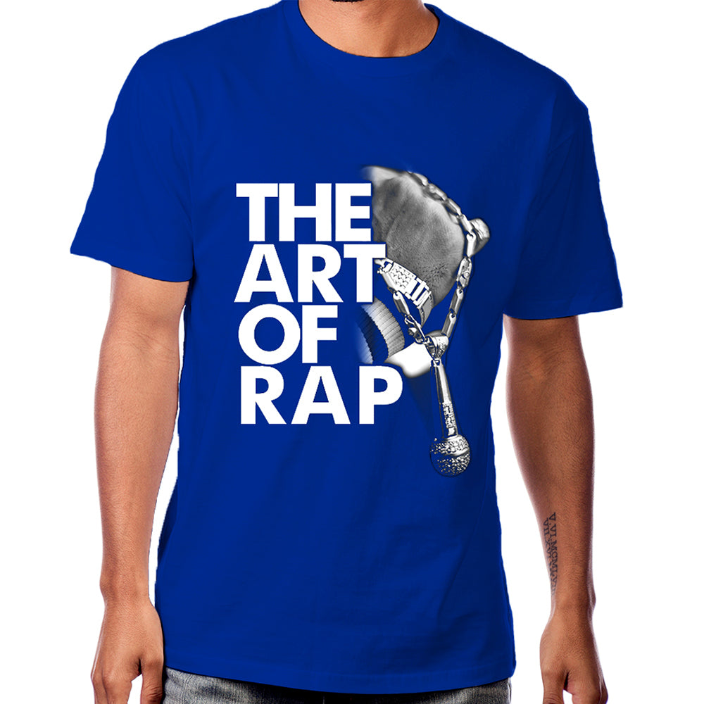 "Art of Rap ""Photo"" T-shirt in Blue"