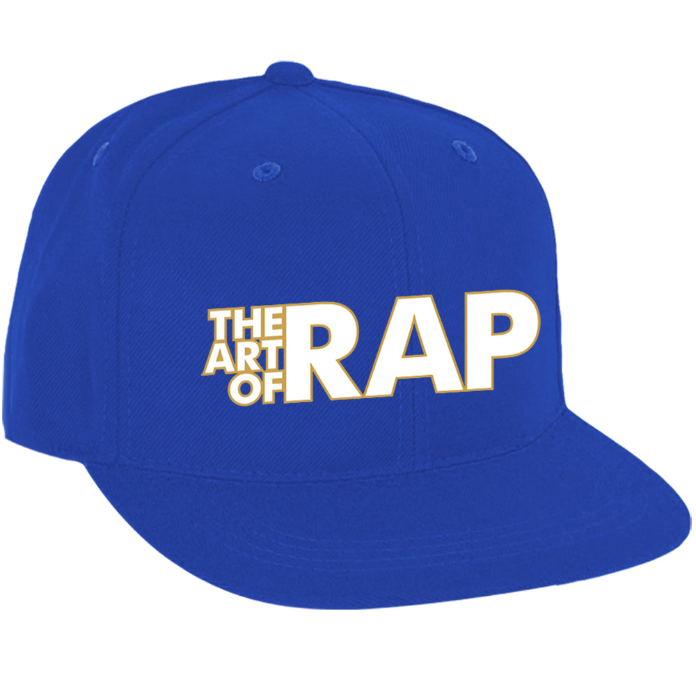 "Art of Rap ""Logo"" Snap Back Hat in Blue"