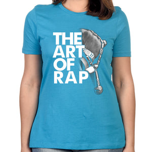"Art of Rap ""Photo"" Women's T-shirt in Blue"