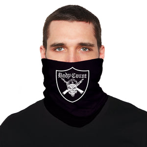 "Body Count ""Pirate"" neck gaiter in Black"