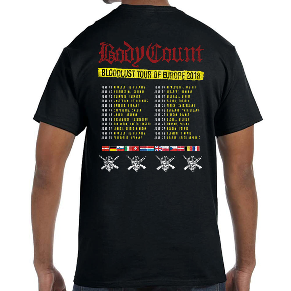 Body Count Attack T-Shirt