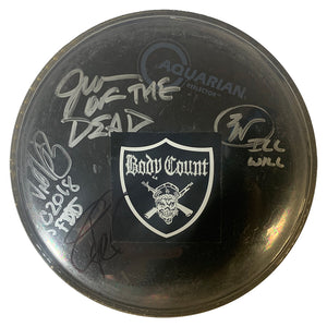Body Count AUTOGRAPHED Drum Head