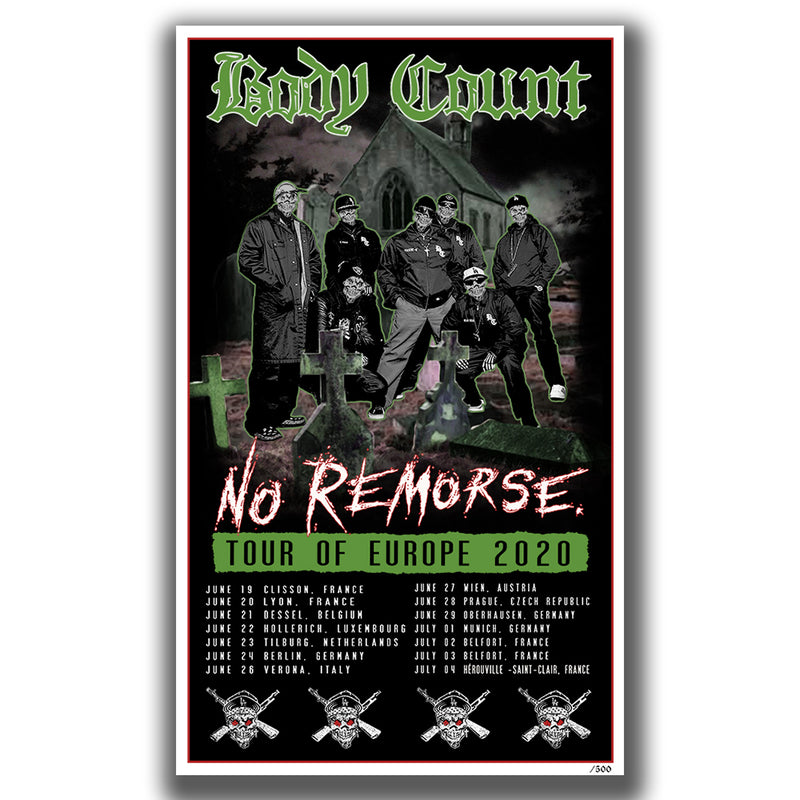 Body Count Graveyard Limited Poster