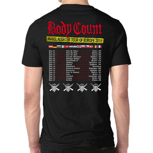 Body Count Manslaughter T-Shirt