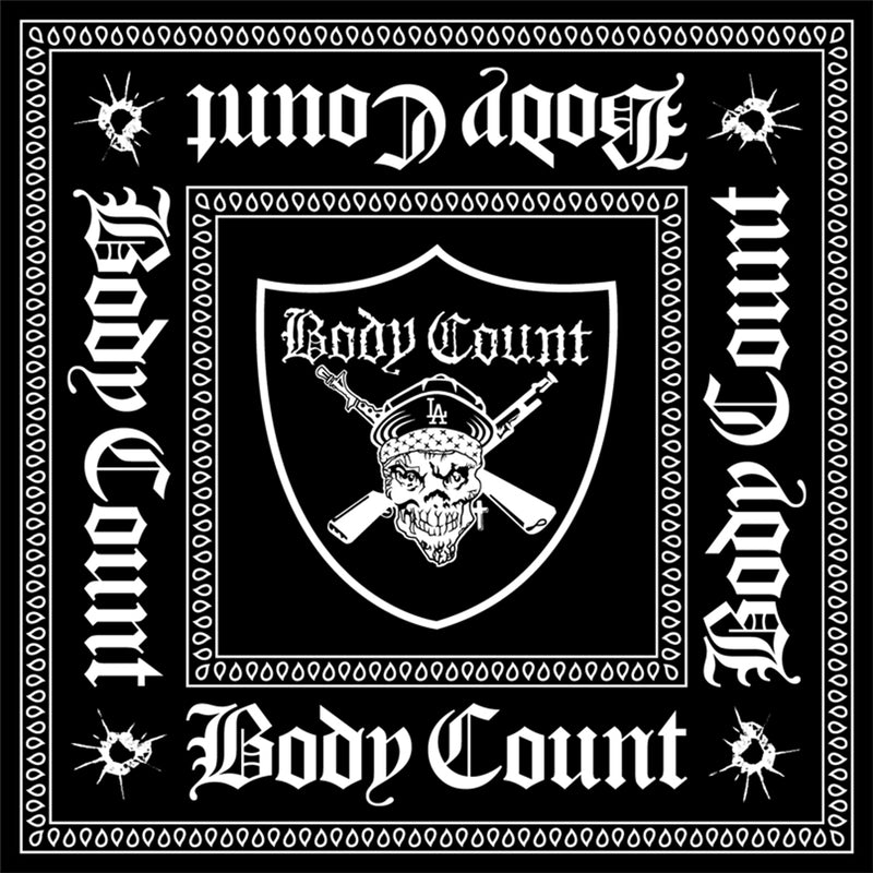 Body Count Pirate Bandana in Black