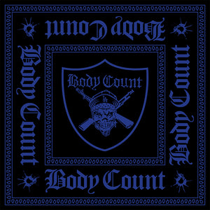 Body Count Pirate Bandana in Blue Print