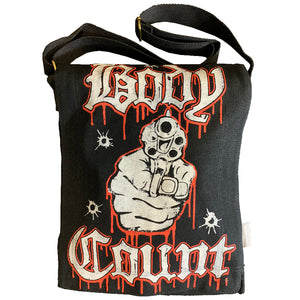 "Body Count ""Talk S#!t, Get Shot"" Messenger Bag"
