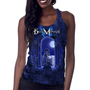 "Blue Midnight ""Archway"" Women's Allover Print Tank Top"