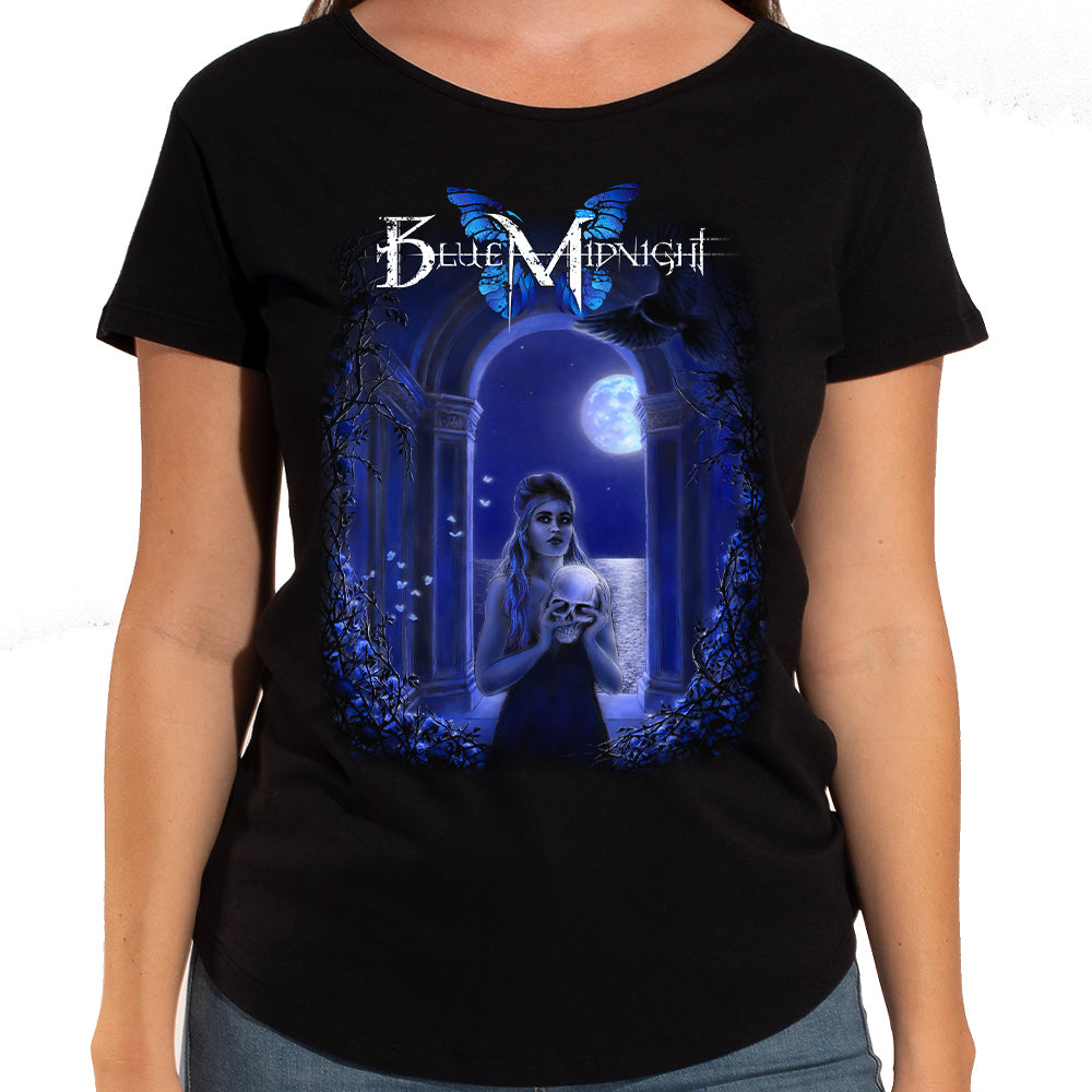 "Blue Midnight ""Archway"" Women's Scoop Neck T-Shirt"