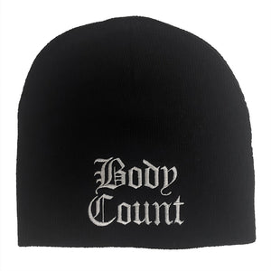 Body Count Old English Logo Beanie