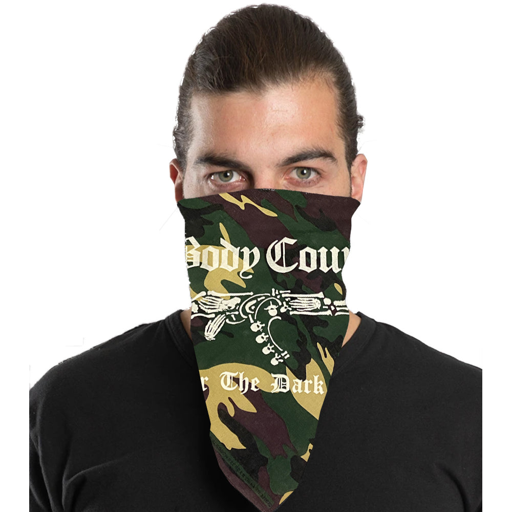 Body Count Darkside Bandana in Green Camo
