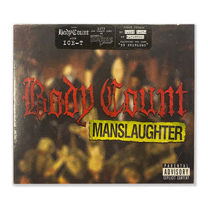 "Body Count ""Manslaughter"" CD"
