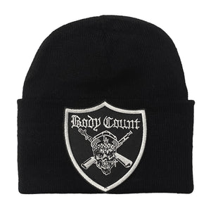 Body Count Pirate Single Fold Beanie