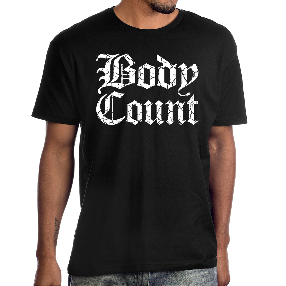 Body Count Stacked Logo T-Shirt in Black