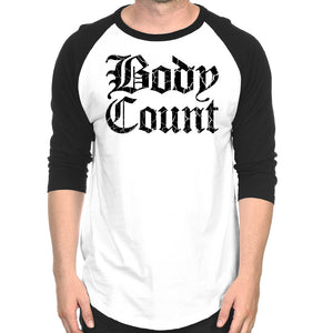 "Body Count ""Stacked Logo"" Raglan"