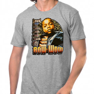 "Bow Wow ""Little"" T-Shirt - Heather Grey"