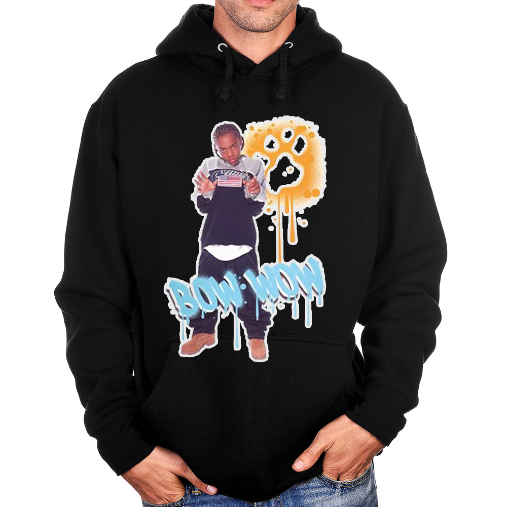 "Bow Wow ""Graffiti"" Unisex Pullover Hoodie"