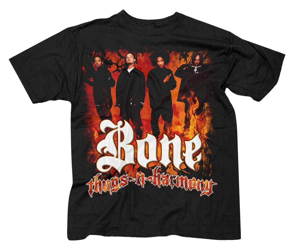 "Bone Thugs-n-Harmony ""Classic Flames"" T-Shirt"