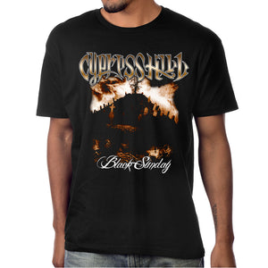 "Cypress Hill ""Black Sunday"" Black T-shirt"
