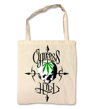 "Cypress Hill ""Pothead"" on Tan Tote Bag"