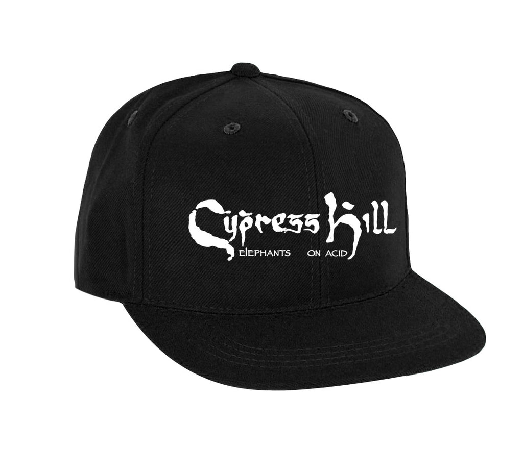 "Cypress Hill ""Elephants On Acid"" 2019 Tour Black Flex Fit Hat"