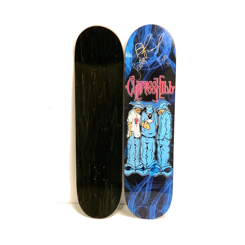 "CYPRESS HILL ""Blunted"" RARE LIMITED EDITION Autographed Skateboard Deck"