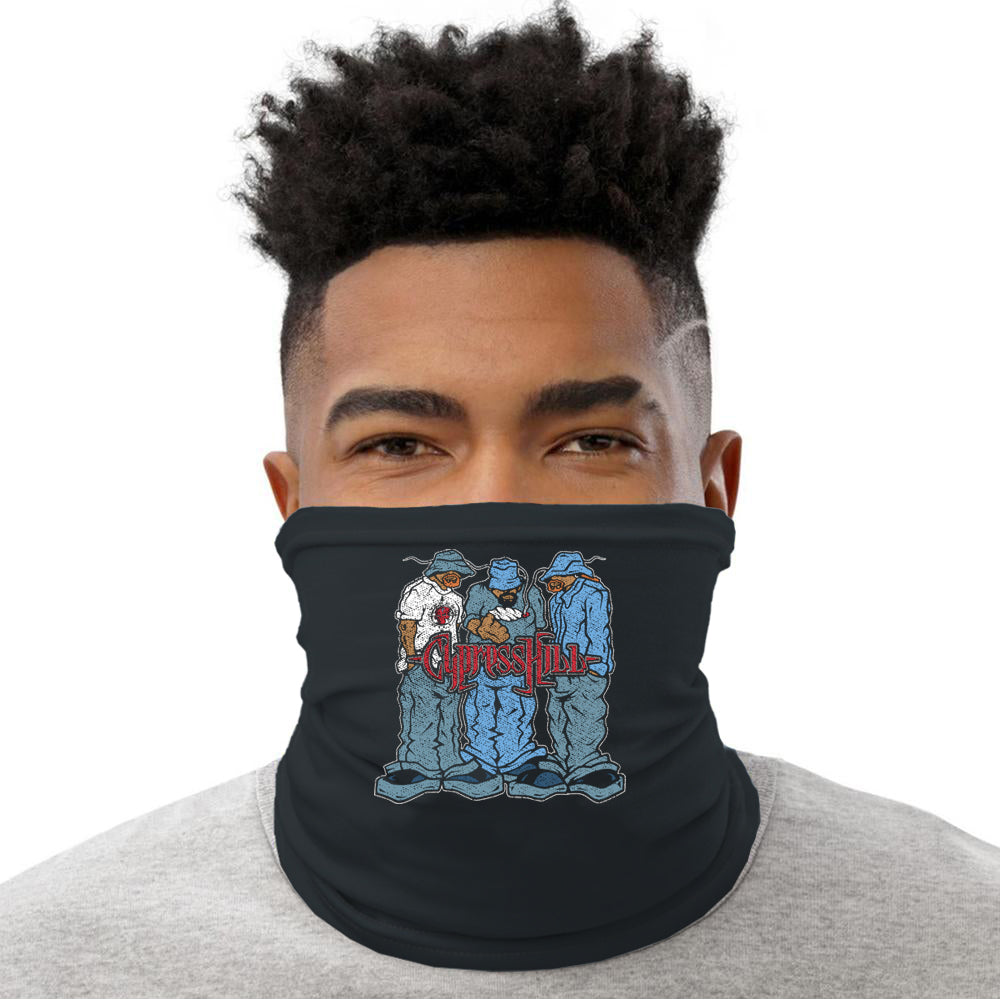 "Cypress Hill ""Blunted"" neck gaiter"