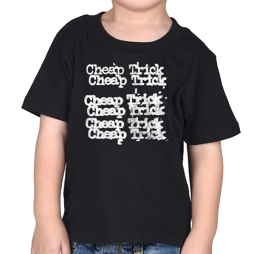 Cheap Trick Stacked Logo Kid's T-Shirt