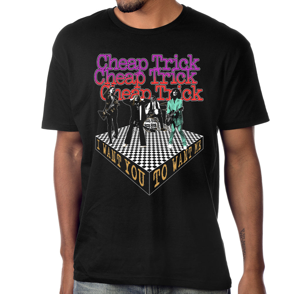 "Cheap Trick ""I Want You To Want Me"" T-Shirt"