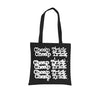 "Cheap Trick ""Stacked Logo"" Black Tote Bag"