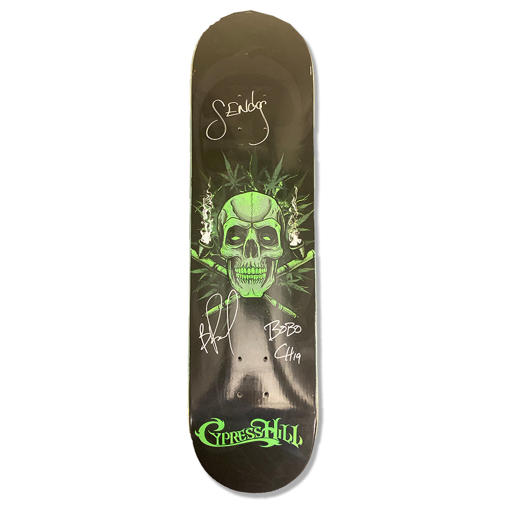 "Cypress Hill ""420"" AUTOGRAPHED Limited Edition Skate Deck"