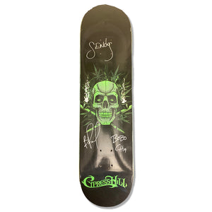 "Cypress Hill ""420"" AUTOGRAPHED Limited Edition Skateboard Deck"