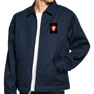 "Cypress Hill ""Elephants On Acid"" Jacket - Navy Blue"