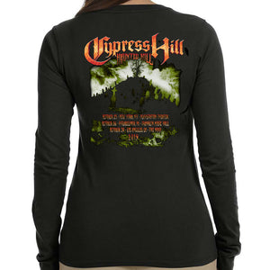 "Cypress Hill ""Haunted Hill 2019"" Women's Long Sleeve Shirt"
