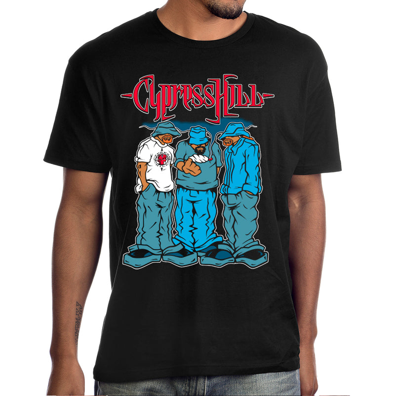 "Cypress Hill ""Blunted"" T-Shirt in Black"