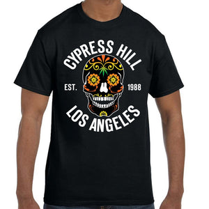 "Cypress Hill ""Day of the Dead"" Black T-Shirt"