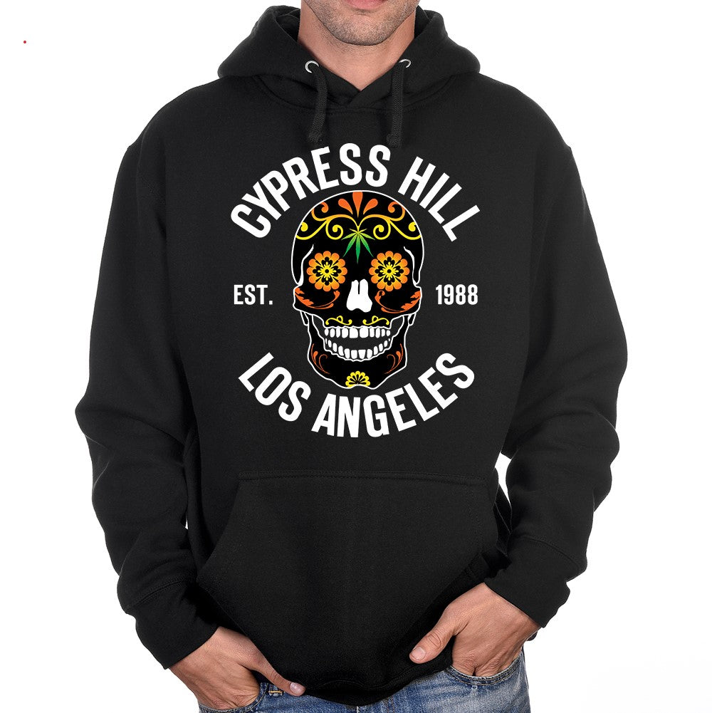 "Cypress Hill ""Day of the Dead"" Black Bullover Hoodie"