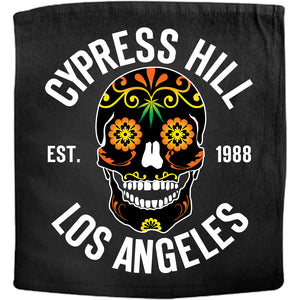 "Cypress Hill ""Day Of The Dead"" Rally Hand Towel"