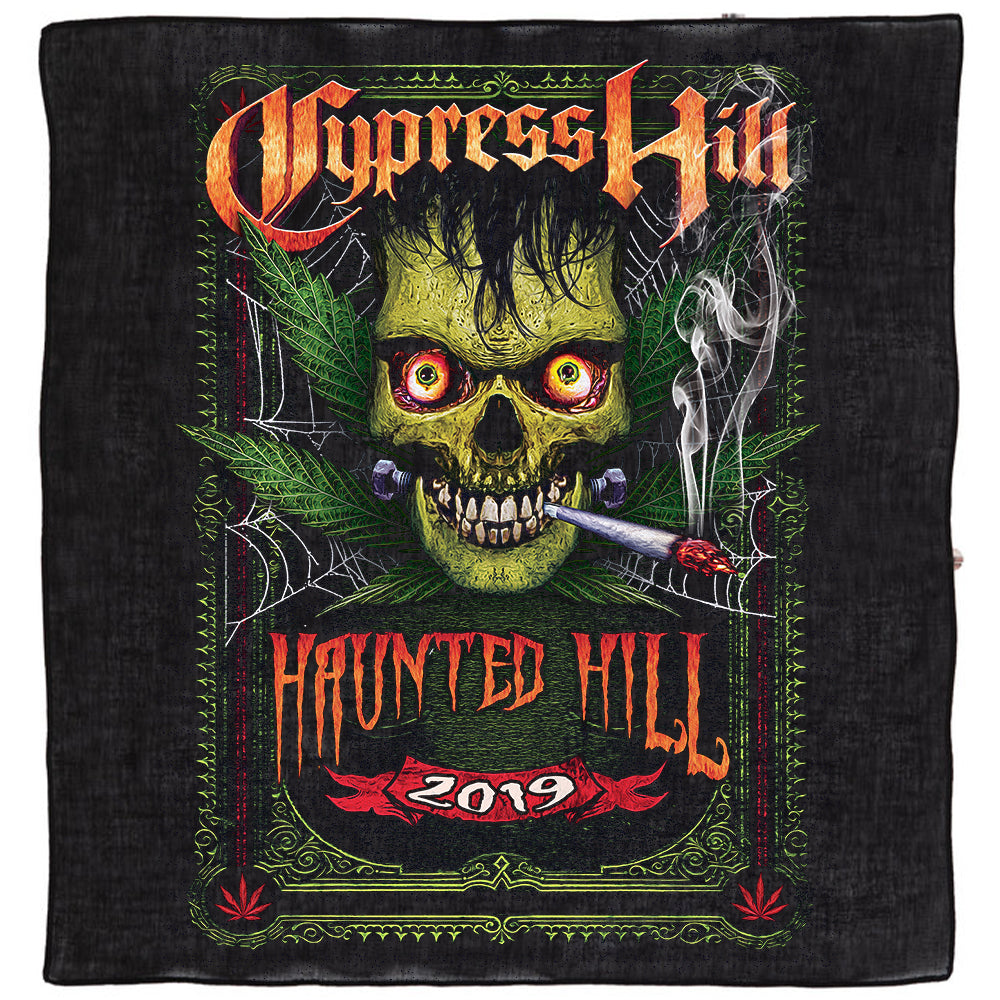 "Cypress Hill ""Haunted Hill 2019"" Bandana"