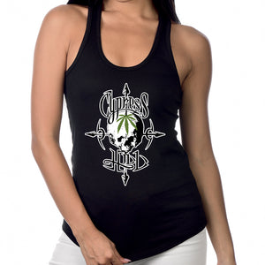 "Cypress Hill ""Pothead"" Women's Racer Back Tank Top"