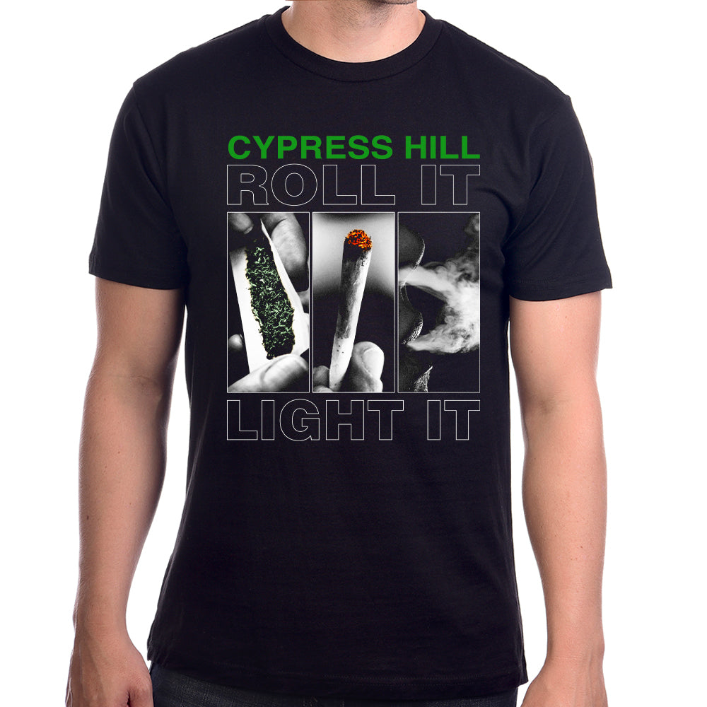 Cypress Hill 25TH ANNIVERSARY SKULL BUNDLE (CD & BOOK ) with Roll It Up t-shirt