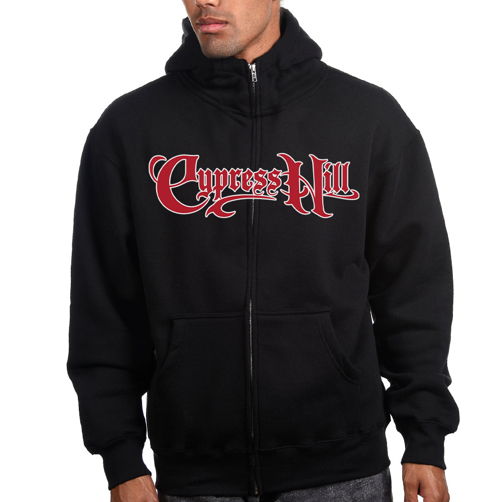 "Cypress Hill ""Skull & Compass"" Men's Zip Hoodie"