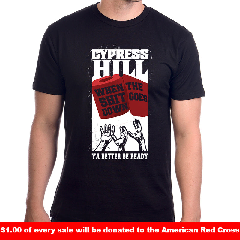 "Cypress Hill ""Wipe Up"" T-Shirt"